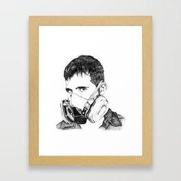 SPEAK NO EVIL Framed Art Print