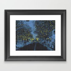 Splendor Framed Art Print