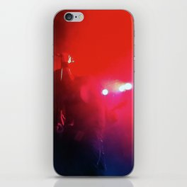 Red Music iPhone Skin