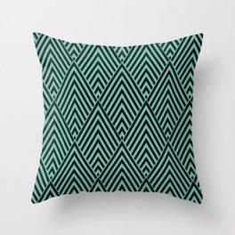Triangle in Diamonds. Throw Pillow
