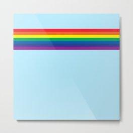 Rainbow 4 Metal Print