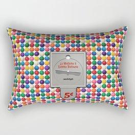 La Machine à Gomme Balloune Rectangular Pillow