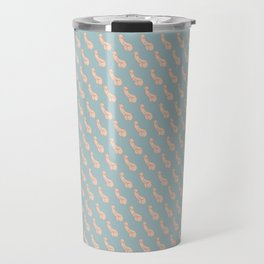 Practically Perfect - Penis in Blue Travel Mug