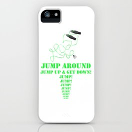 Jump! iPhone Case