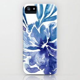 Abstract floral & square #6 iPhone Case