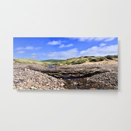 Dune Bridge Metal Print