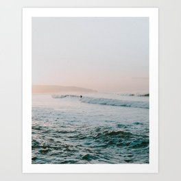 summer waves Art Print