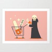sale Art Prints featuring Sale ... by Adam Quest