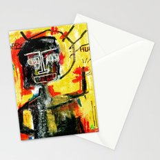 Happy human Stationery Cards