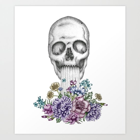 The Birth of Death II Art Print