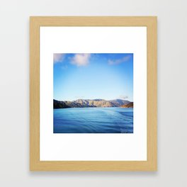 Ben Ohau V2 Framed Art Print