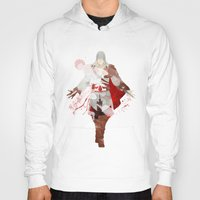 assassins creed Hoodies featuring Assassins Creed: Ezio Auditore da Firenze by Nissie