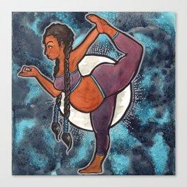 Full Moon Dancer Canvas Print
