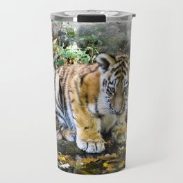 Autumn Tiger Cub Travel Mug