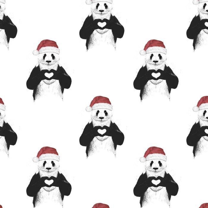 Santa panda Leggings