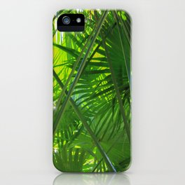 Sunny Tropical Palms 2 iPhone Case