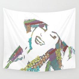 Happy woman II Wall Tapestry
