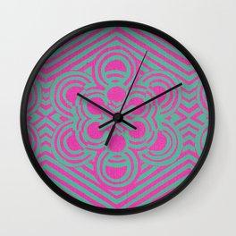 Shimmy Shimmy Pow Wall Clock