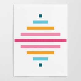 Spinning Top Quilt in Bright Poster