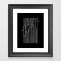 Anxiety Framed Art Print