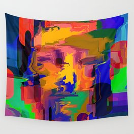 head high Wall Tapestry