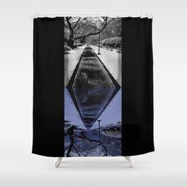 Snowblind Shower Curtain