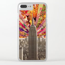 BLOOMING NY Clear iPhone Case