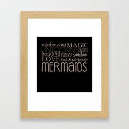 magic in the air Framed Art Print