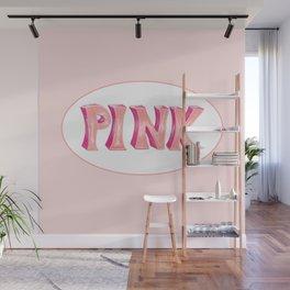 PINK Wall Mural