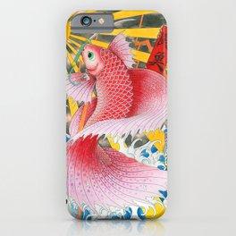 betta  fish  iPhone Case