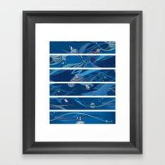 A Space Journey Framed Art Print