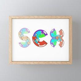 sex Framed Mini Art Print