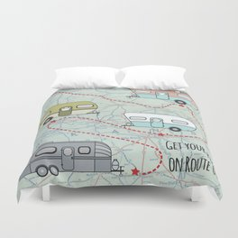 Get Your Kicks Duvet Cover