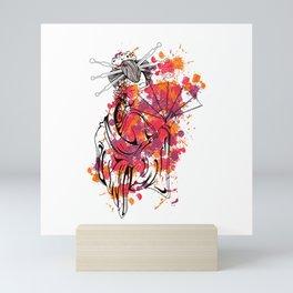 Secrets of the Geisha - Beautiful Chinese Girl Mini Art Print