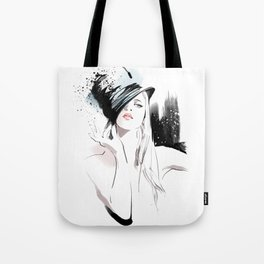 Fashion Painting #5 Tote Bag