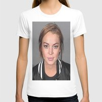 lindsay lohan T-shirts featuring Lindsay Lohan by Neon Monsters