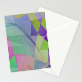 Multicolored abstract no. 68 Stationery Cards