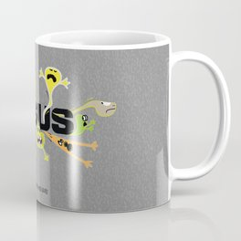 Scary Jesus Coffee Mug