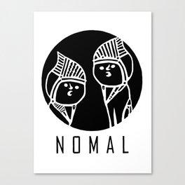 NOMAL Canvas Print