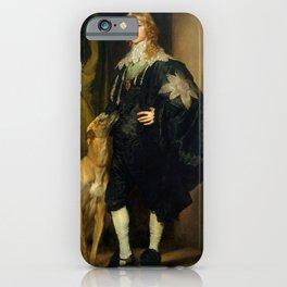 "Sir Anthony van Dyck ""James Stewart, 1st Duke of Richmond, 4th Duke of Lennox"" iPhone Case"