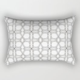 Poplar wood fibre walls electron microscopy pattern Rectangular Pillow