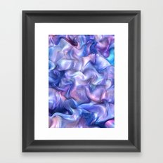 Smooth Paint Framed Art Print