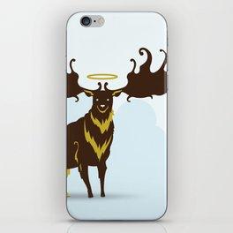 God's Zoo: Irish Elk iPhone Skin