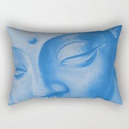 Siddharta Gautama blue Rectangular Pillow