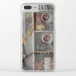 Lisa Marie Basile, No. 105 Clear iPhone Case