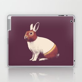 Lapin Catcheur (Rabbit Wrestler) Laptop & iPad Skin