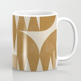 Woodblock Pattern Coffee Mug