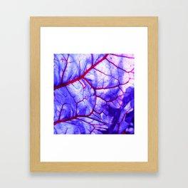 bloodstream abstract III Framed Art Print