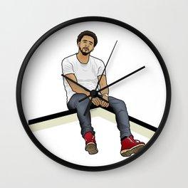 J Cole Wall Clock