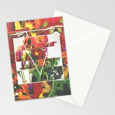 Fake Flowers Stationery Cards